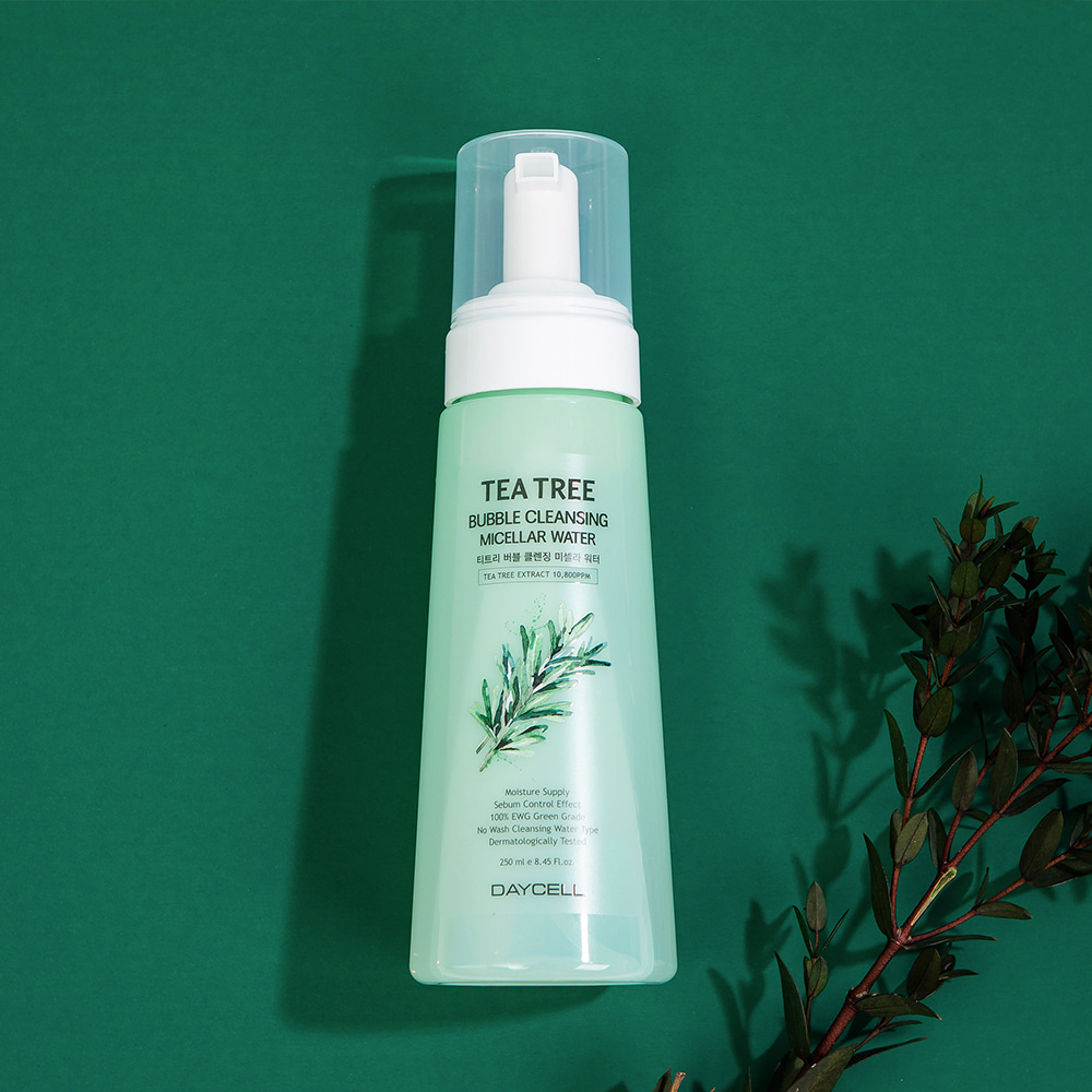 [DAYCELL] Tea Tree Bubble Cleansing Micellar Water 270ml