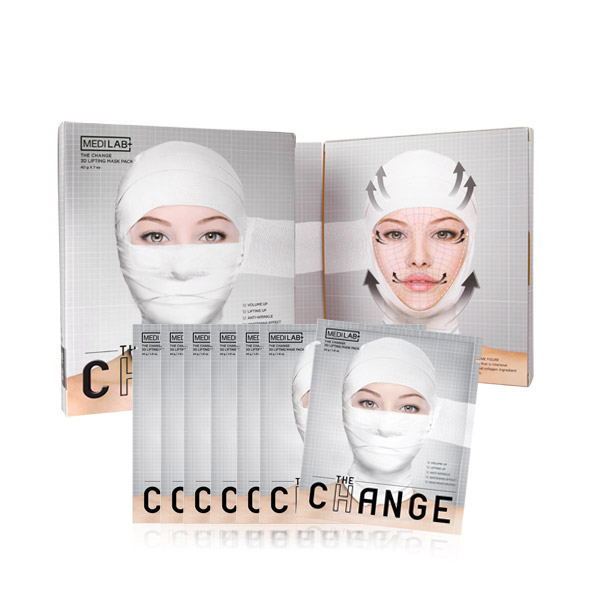 [DAYCELL] MEDI LAB The Change 3D Lifting Mask Pack 35g x 7ea