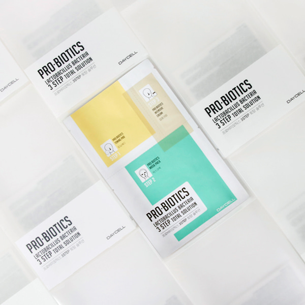 [DAYCELL] Probiotics 3 Step Total Solution Mask