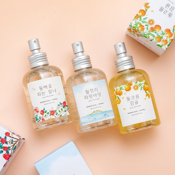 [DAYCELL] Small Jeju Body Perfume Mist by my side 150ml - 3 types